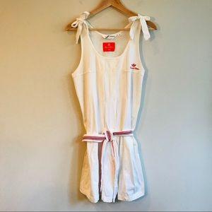 Adidas Tournament Edition Tennis Dress In White